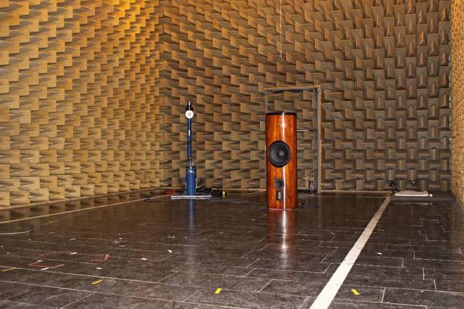 Ayon Audio Black Hawk Messungen: Der Messraum