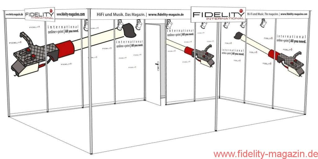 FIDELITY Messestand 2016