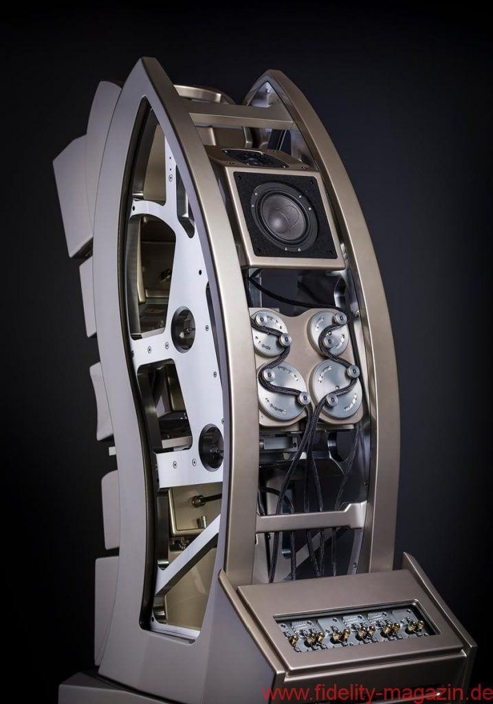 The Wilson Audio WAMM Master Chronosonic Loudspeaker