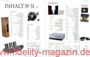 FIDELITY 31 Inhalt