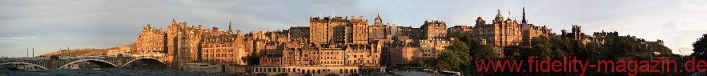Winfried Dulisch schlendert durch Glasgow und Edinburgh