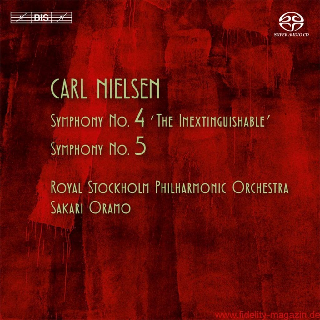 Carl Nielsen - Symphonies No. 4 & 5