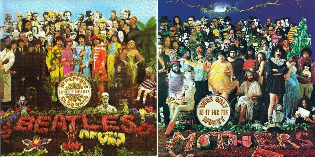 Albumdoppel Beatles Zappa