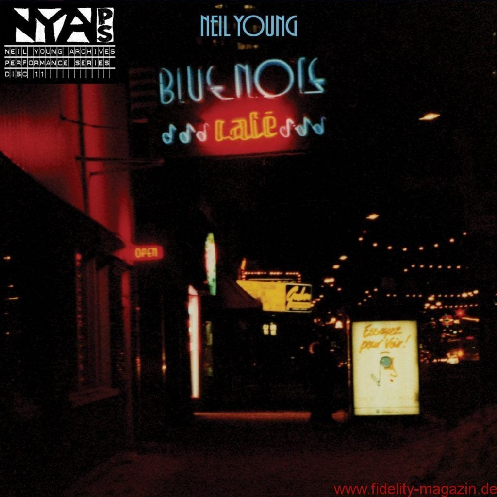 Neil Young and the Bluenotes