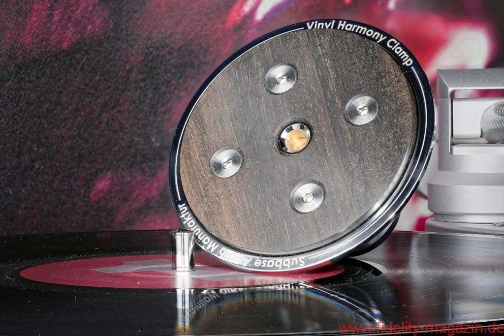 Subbase Audio Vinyl Harmony Clamp