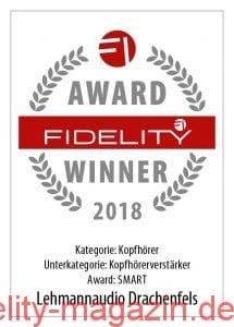 FIDELITY Award Winner 2018 Lehmannaudio Drachenfels