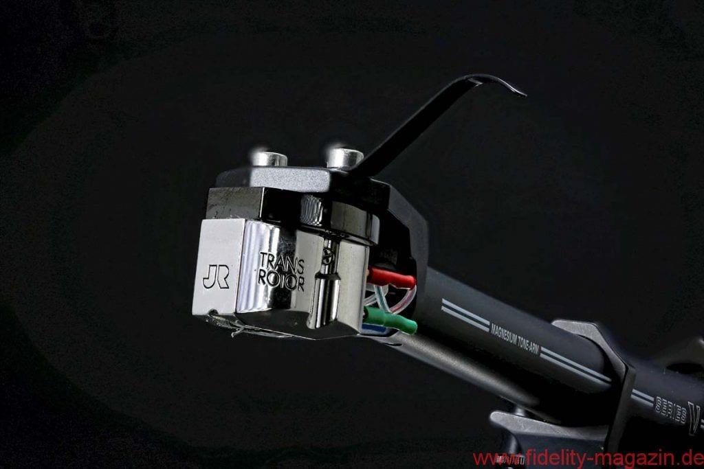 Transrotor Tamino MC-Tonabnehmer - Nach Transrotor-Vorgaben wird das MC-System Tamino bei MY Sonic Lab in Japan gefertigt, weltweit eine der ersten Adressen für höchstwertige Abtaster.