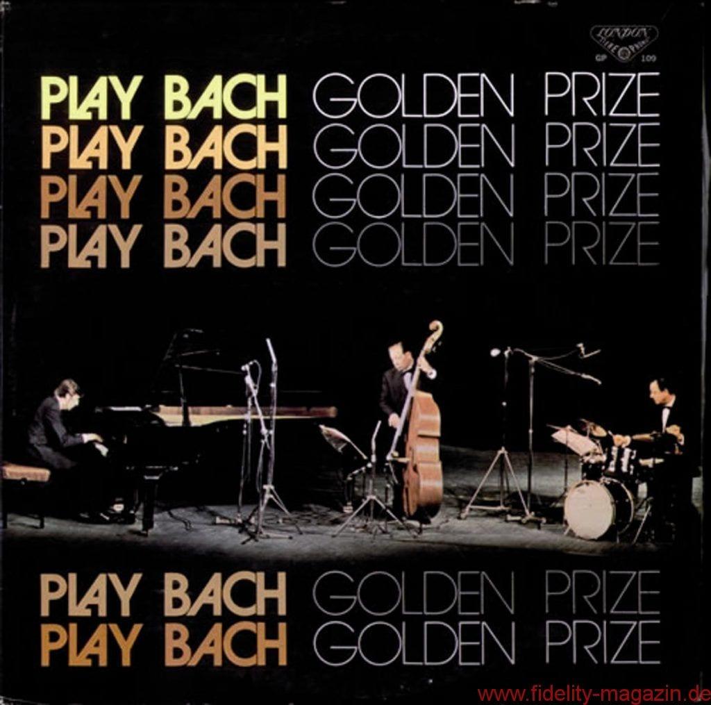 Jacques Loussier Trio: Play Bach - Golden Prize