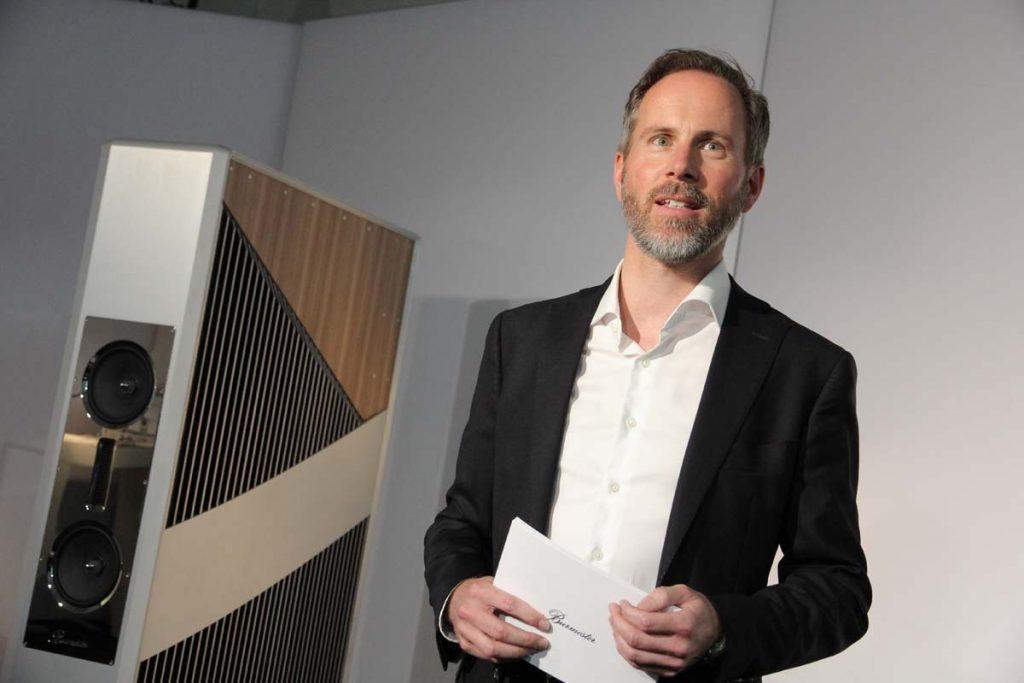 Andreas Henke, Burmester Audiosysteme, Berlin