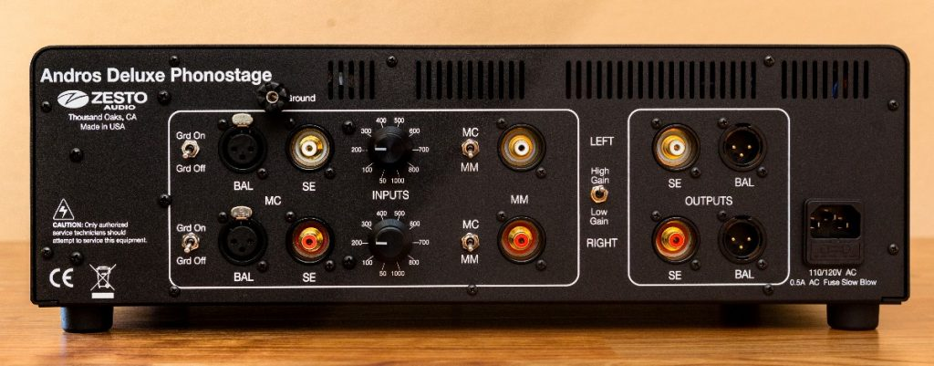 Zesto Audio Andros Deluxe