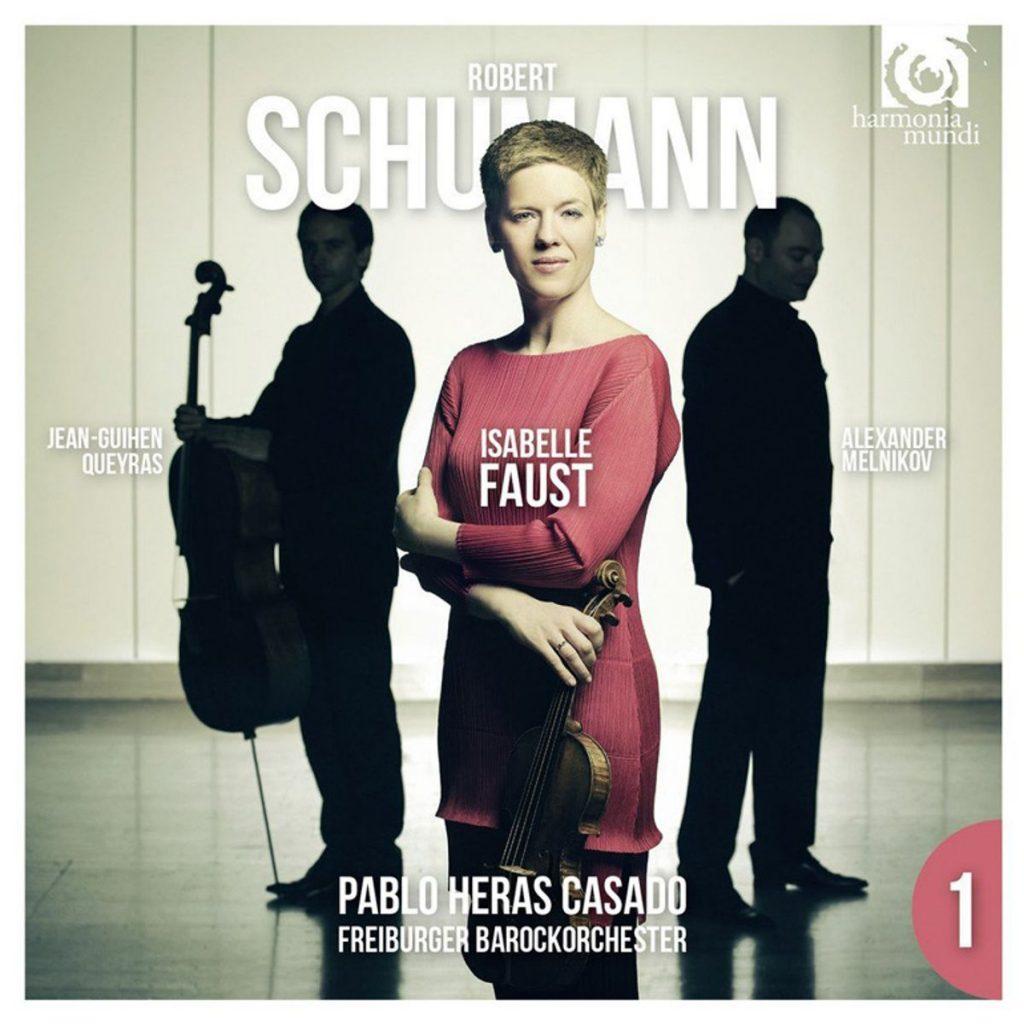 Schumann – Violinkonzert, Klaviertrio g-Moll