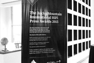 Rocky Mountain International HiFi Press Award 2015