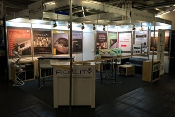 fidelity messestand