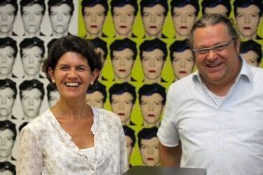 Daniela Manger und Cai Brockmann
