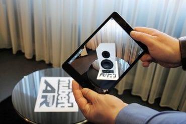 Nubert nuPro-App: Kostenlose App zeigt Aktivboxen dreidimensional im Raum