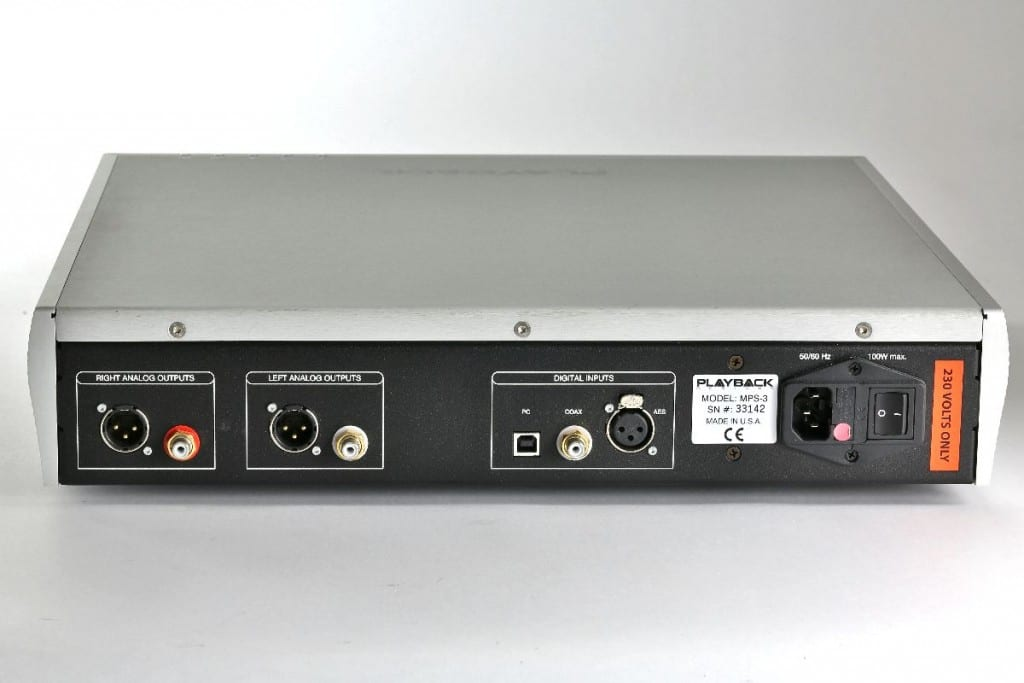 Playback Designs MPS-3