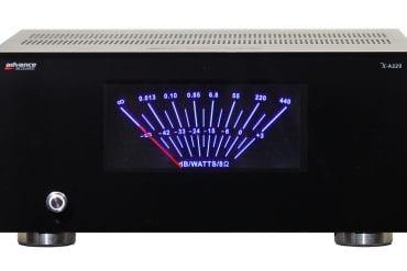Advance Acoustic, in Deutschland im Alleinvertrieb von quadral, Hannover, präsentiert die neue, ab sofort verfügbare Mono-Endstufe X-A220.