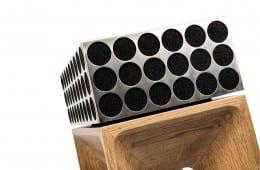 Hinter dem Design der edlen Pandoretta verbergen sich sieben Lautsprecher, die einen beeindruckenden Klang hervorzaubern sollen ...