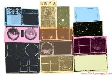 Lautsprecherboxen in Area 51, Heft 17