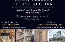 Harry Pearson Estate Auction