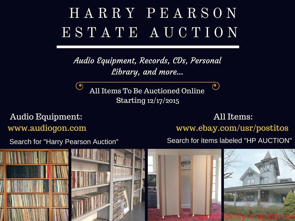Harry Pearson Estate Auction
