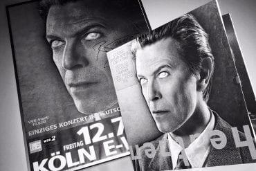 David Bowie Poster und Coverart Heathen