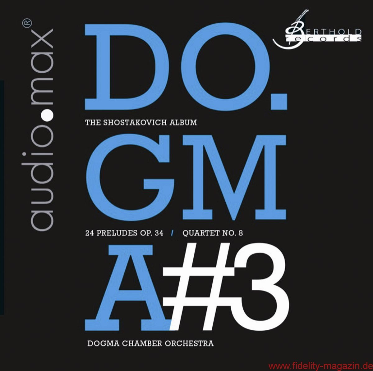 CD-Cover Dogma Chamber Orchestra