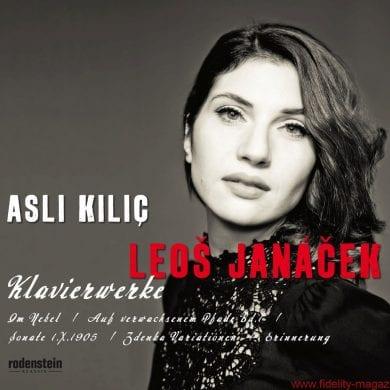 CD-Cover Asli Kilic Janacek