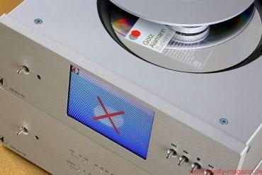 Pro-Ject CD Box RS DAC Box RS - Solange die CD nicht eingelesen ist' zeigt das Display des Laufwerks ein unmissverständliches Symbol