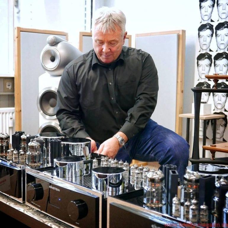 Volker Bohlmeier von Einstein Audio