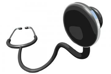 Phasenumkehr Stethoskop