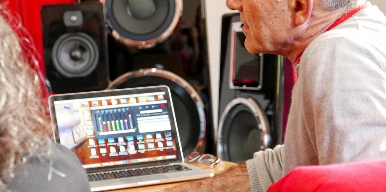 Mark Levinson of Daniel Hertz Audio