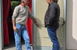 Mr. Mark Levinson und Cai Brockmann, FIDELITY, im Gespräch