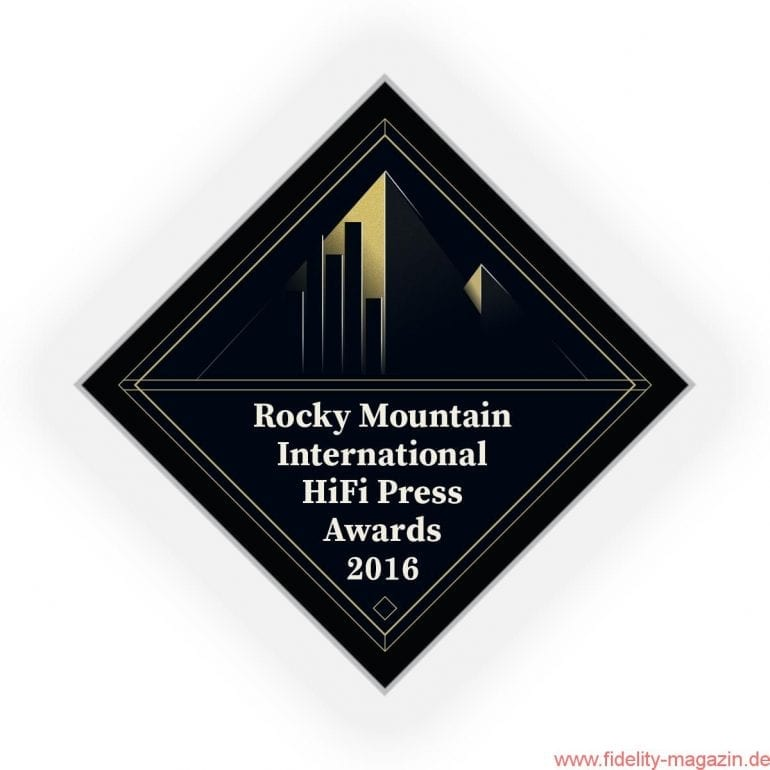 Rocky Mountain International HiFi Press Award RIHPA 2016