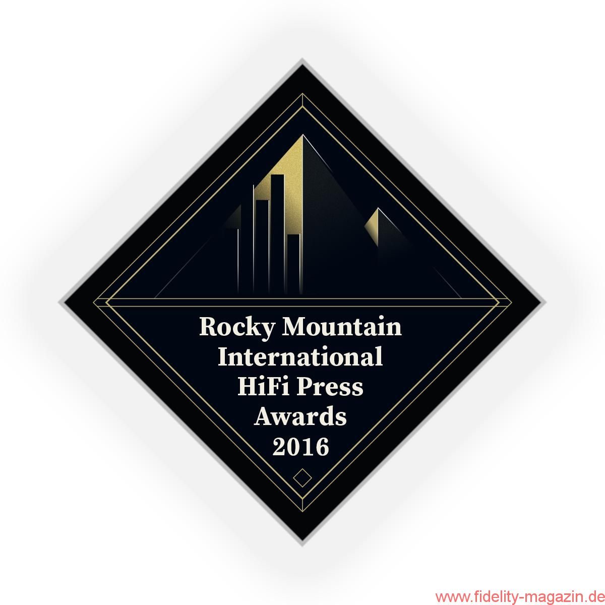 Rocky Mountain International HiFi Press Award RIHPA 2016