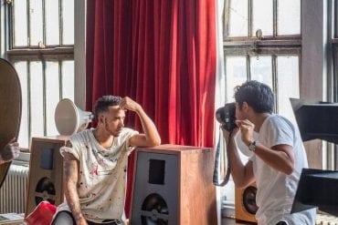 Lewis Hamilton bei Oswalds Mill Audio, New York