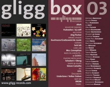 gligg box 03 12-CD-Box/gligg Records