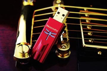 AudioQuest Dragonfly Red und Dragonfly Black