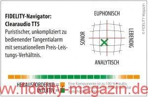 Clearaudio TT5 Tangentialtonarm Navigator