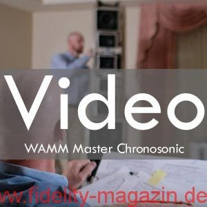 The Wilson Audio WAMM Master Chronosonic Loudspeaker Video