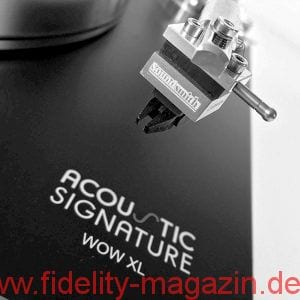 Acoustic Signature WOW XL Plattenspieler