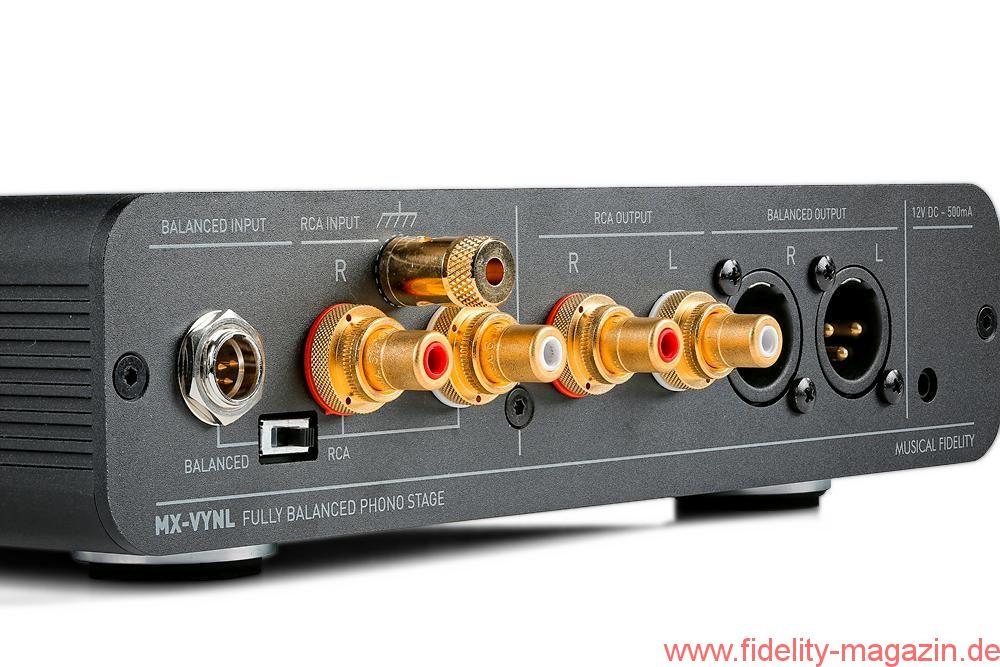 Test Musical Fidelity MX-VNYL Phono Vorverstärker - FIDELITY online