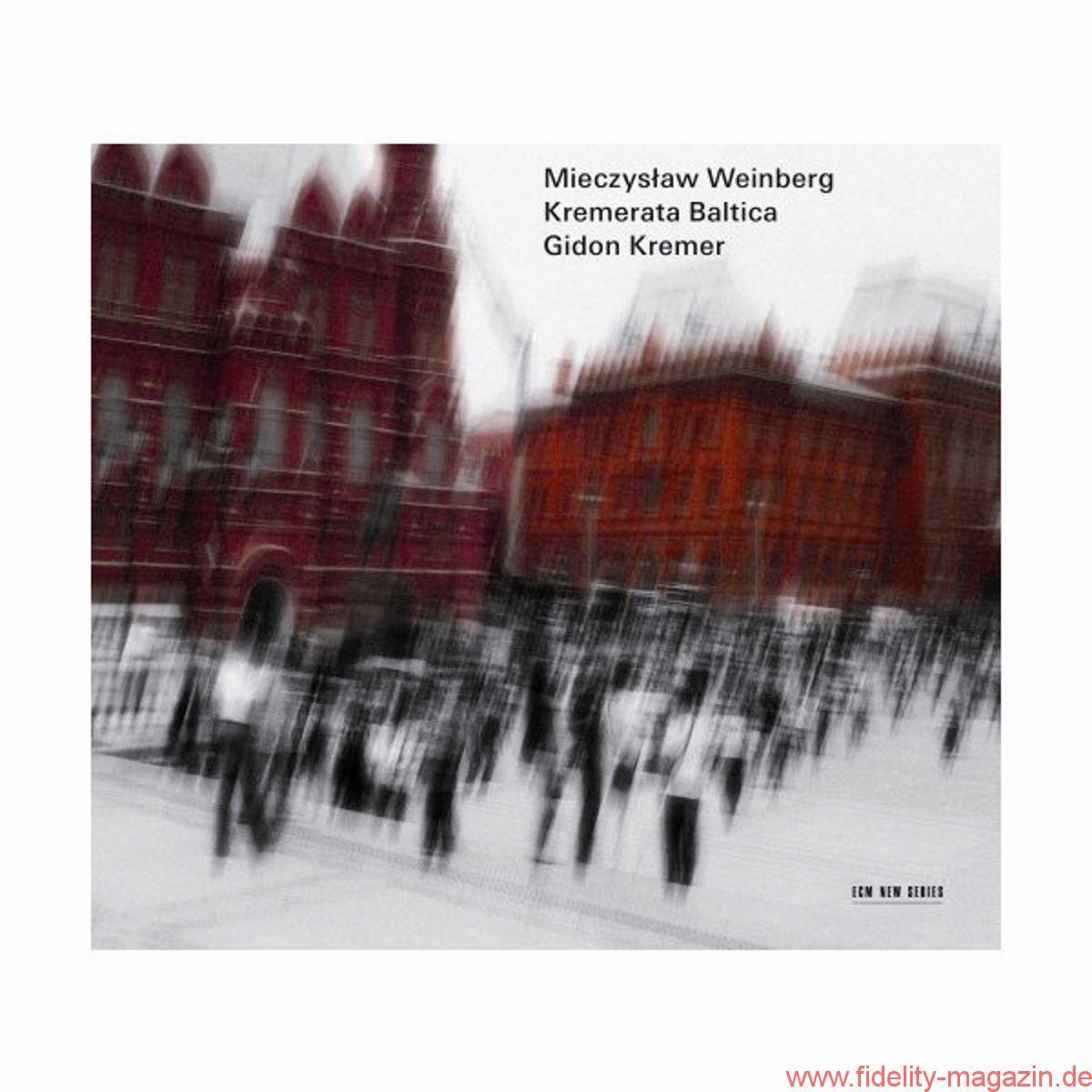 Gidon Kremer, Kremerata Baltica – Mieczyslaw Weinberg: Werke