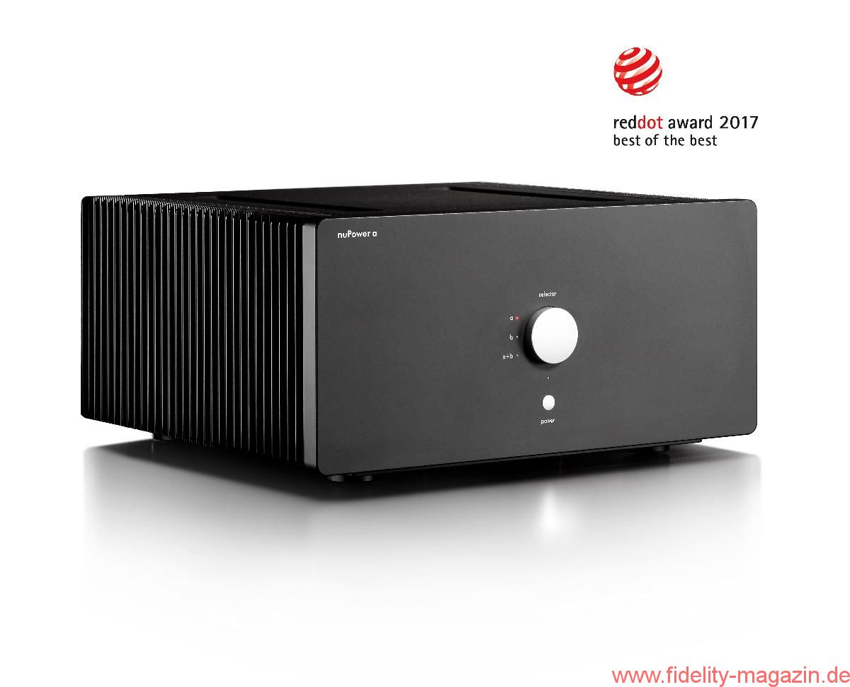 Nubert Red Dot Design Award 2017