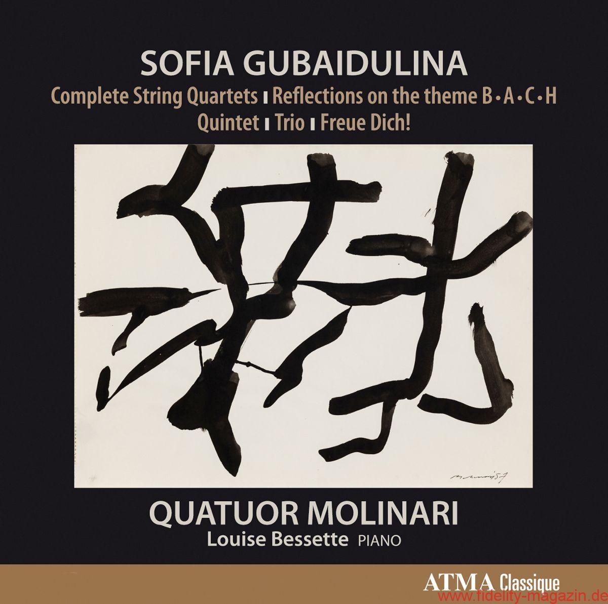 Sofia Gubaidulina - Streichquartette