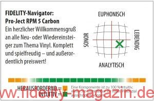 Pro-Ject RPM 5 Carbon Navigator