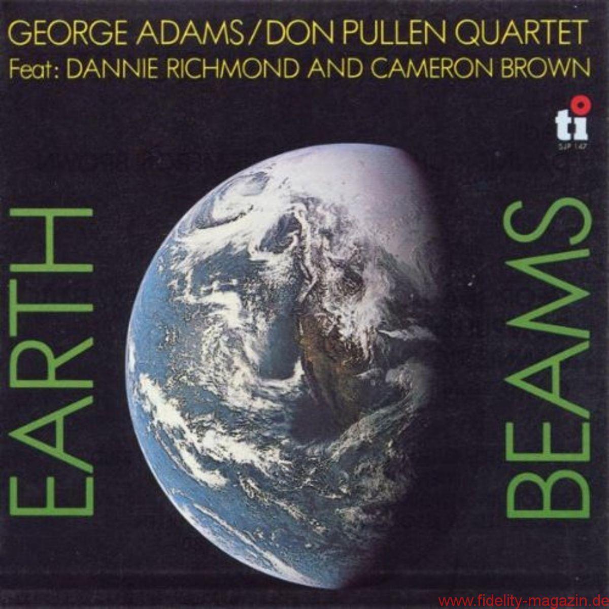 george adams don pullen quartet earth beams