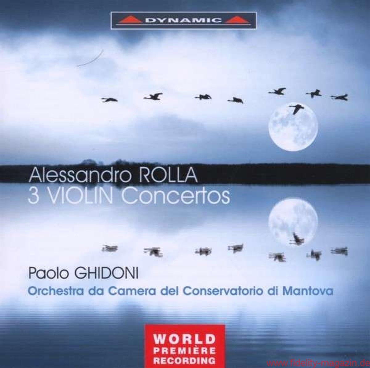 Alessandro Rolla – Violinkonzerte