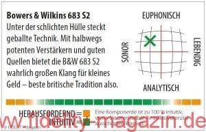 Bowers & Wilkins B&W 683 S2 Standlautsprecher Navigator