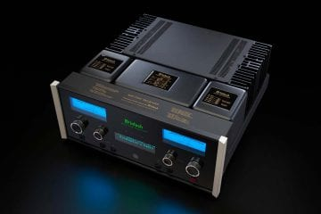 McIntosh MA7200 Integrated Amplifier and MAC7200 Receiver
